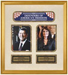 Reagan/palin Framed Photo (defenders Of American Freedon) Collage