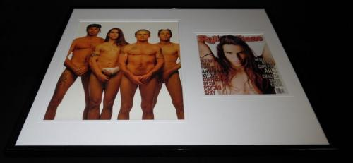 Red Hot Chili Peppers 16x20 Framed Rolling Stone Cover Display