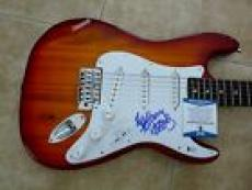 Red Hot Chili Peppers Anthony Kiedis fLEA Signed Autograph Guitar BAS Certified