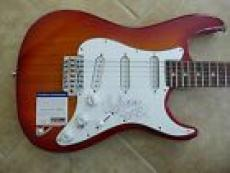Red Hot Chili Peppers Anthony Kiedis Signed Autographed Guitar PSA Certified