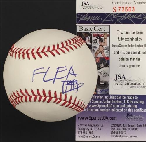 Red Hot Chili Peppers FLEA Autograph Signed MLB Baseball * JSA COA * RARE Auto