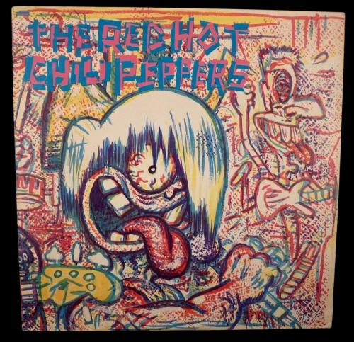 Red Hot Chili Peppers ST-17128 S/T 1984 EMI Vinyl LP Record Original Press