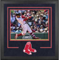 "Boston Red Sox Deluxe 16"" x 20"" Horizontal Photograph Frame - Mounted Memories"