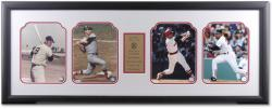 Boston Red Sox 4-Framed Photo Collectible