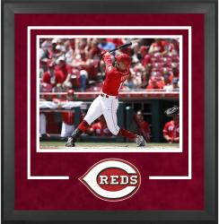"Cincinnati Reds Deluxe 16"" x 20"" Horizontal Photograph Frame - Mounted Memories"