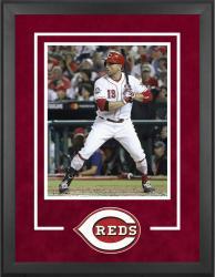 "Cincinnati Reds Deluxe 16"" x 20"" Vertical Photograph Frame"