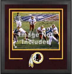 Washington Redskins Deluxe 16'' x 20'' Horizontal Photograph Frame with Team Logo - Mounted Memories
