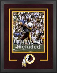 Washington Redskins Deluxe 16'' x 20'' Vertical Photograph Frame with Team Logo - Mounted Memories