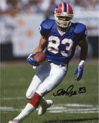 "Andre Reed Buffalo Bills Autographed 8"" x 10"" Photograph -"