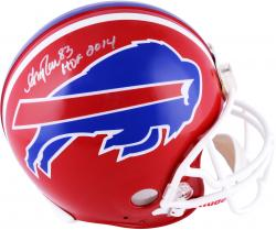 Andre Reed Buffalo Bills Autographed Riddell Pro-Line Authentic Helmet with HOF 2014 Inscription
