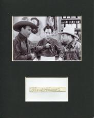 Reed Howes In The Dawn Rider Rare Signed Autograph Photo Display W/ John Wayne