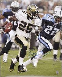 Signed Reggie Bush Photograph - 16x20 Mounted Memories
