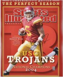 Reggie Bush USC Trojans Autographed 16'' x 20'' Sports Illustrated Photograph - Mounted Memories