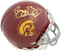 Reggie Bush USC Trojans Autographed Riddell Mini Helmet