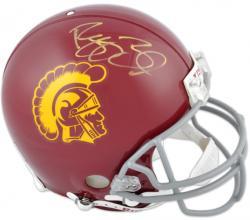 Reggie Bush USC Trojans Autographed Authentic Riddell Pro Line Helmet