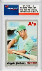 Reggie Jackson Oakland Athletics 1970 Topps #140 Card - Mounted Memories
