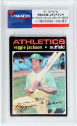 Reggie Jackson Oakland Athletics 1971 Topps #20 Card - Mounted Memories