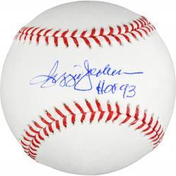 Reggie Jackson New York Yankees Autographed Baseball with HOF 93 Inscription
