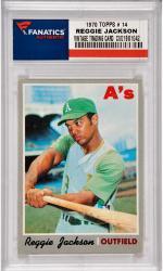 Reggie Jackson Oakland A's 1970 Topps #14 Card