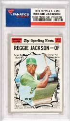 Reggie Jackson Oakland A's 1970 Topps A.S. #459 Card