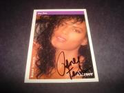 Renee Tenison 1989 Nov. Playboy 1992 Star Pics #31 Signed Authentic Autograph K
