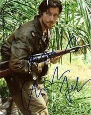 RESCUE DAWN signed CHRISTIAN BALE - he's batman damn it !!!