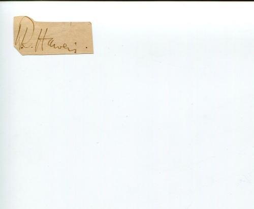 Reverend Hugh Reginald Haweis Clergy Cleric Author Signed Autograph