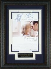 Revolutionary Road signed 22X30 Masterprint Poster Leather Framed w/ Leonardo DiCaprio & Kate Winslet (entertainment/photo)