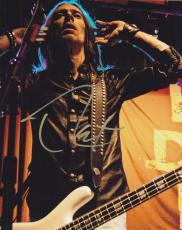 Rex Brown Signed 8x10 Photo w/COA Heavy Metal Pantera Kill Devil Hill
