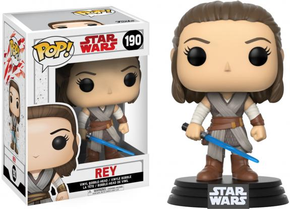 Rey Star Wars The Last Jedi #190 Funko Pop!