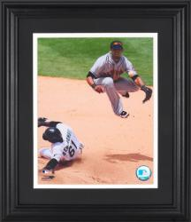 "Jose Reyes New York Mets Framed Unsigned 8"" x 10"" Photograph - Mounted Memories"