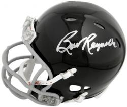 Burt Reynolds Autographed Mini Helmet - The Longest Yard - Mounted Memories