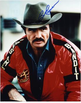 "Burt Reynolds Autographed 8"" x 10"" Head Shot Photograph"