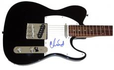 RHCP Chad Smith Autographed Signed Tele Guitar & Proof PSA  AFTA AFTAL
