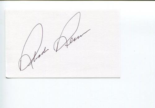 Rhodes Reason Cowboy Western Star Trek King Kong Escapes Signed Autograph