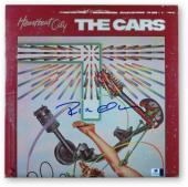 Ric Ocasek Signed Autographed Album Cover The Cars Heartbeat City JSA U16613