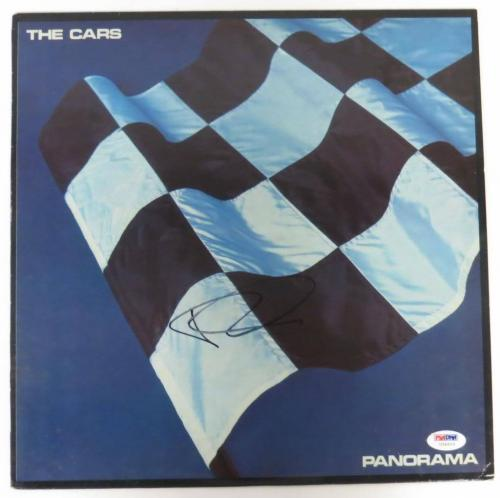 Ric Ocasek Signed The Cars Panorama Vinyl Record Album (PSA/DNA) #U34910