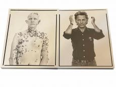 Richard Avedon Famous Photographer Portraits Signed Autograph 1st Edition Book