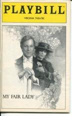 Richard Chamberlain Melissa Errico Julian Hollowa My Fair Lady Feb 1994 Playbill