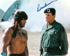 Richard Crenna autographed 8x10 laser picture (Rambo)