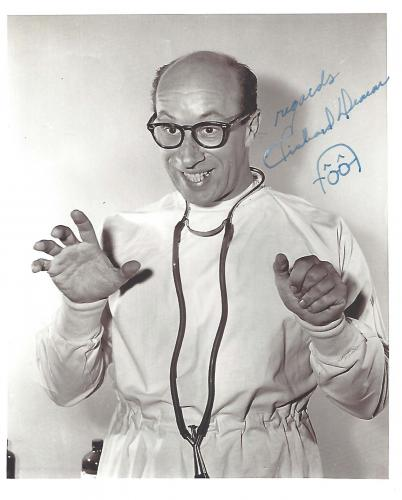 """RICHARD DEACON - Best Known as MEL COOLEY on """"THE DICK VAN DYKE SHOW"""" (Passed Away 1984) Signed 8x10 B/W Photo"""