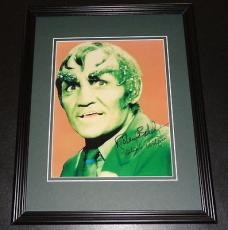 Richard Dick Bakalyan Signed Framed 8x10 Photo Batman Verdigris