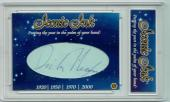 Richard Dick Nixon 2018 President Iconic Ink Signed Cut Auto 1/1 Card JSA