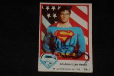 Richard Donner 1978 Topps Superman Signed Autographed Card #63 Director Superman
