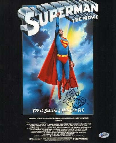 Richard Donner Signed 11x14 Photo BAS Beckett COA Superman 1978 Movie Autograph