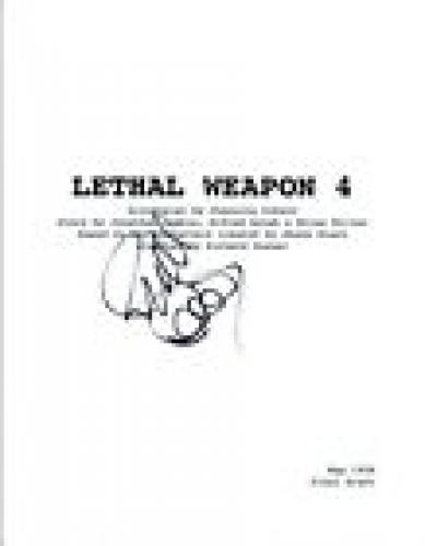 Richard Donner Signed Autographed LETHAL WEAPON 4 Full Movie Script COA VD