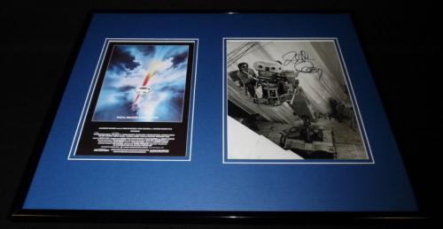 Richard Donner Signed Framed 16x20 Photo Display AW Superman