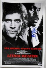 Director RICHARD DONNER Signed Lethal Weapon 11x17 Canvas Photo PSA/DNA COA Auto
