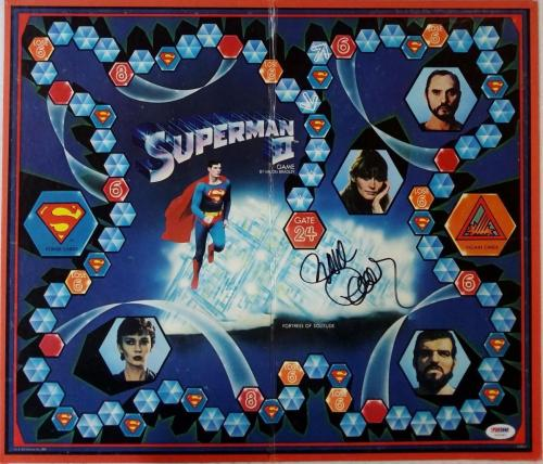 Richard Donner Signed Superman 2 Board Game PSA/DNA Auto Autograph Y52040