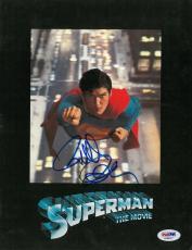 Richard Donner Signed Superman Authentic Autographed Program PSA/DNA #AA60277